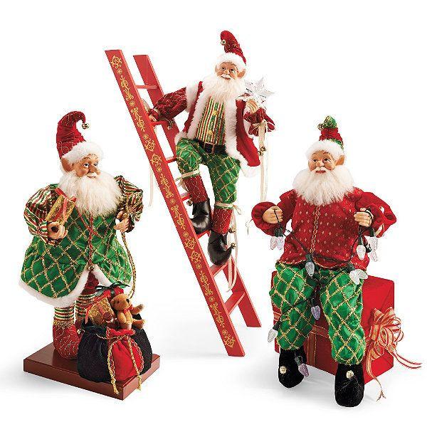 DIY Animated Christmas Decorations  Elves Climbing Ladder Christmas Decoration Home