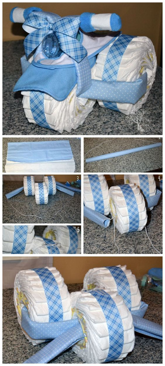 Diy Baby Shower Gift Ideas For Boys  20 DIY Baby Shower Ideas & Tutorials for Boys