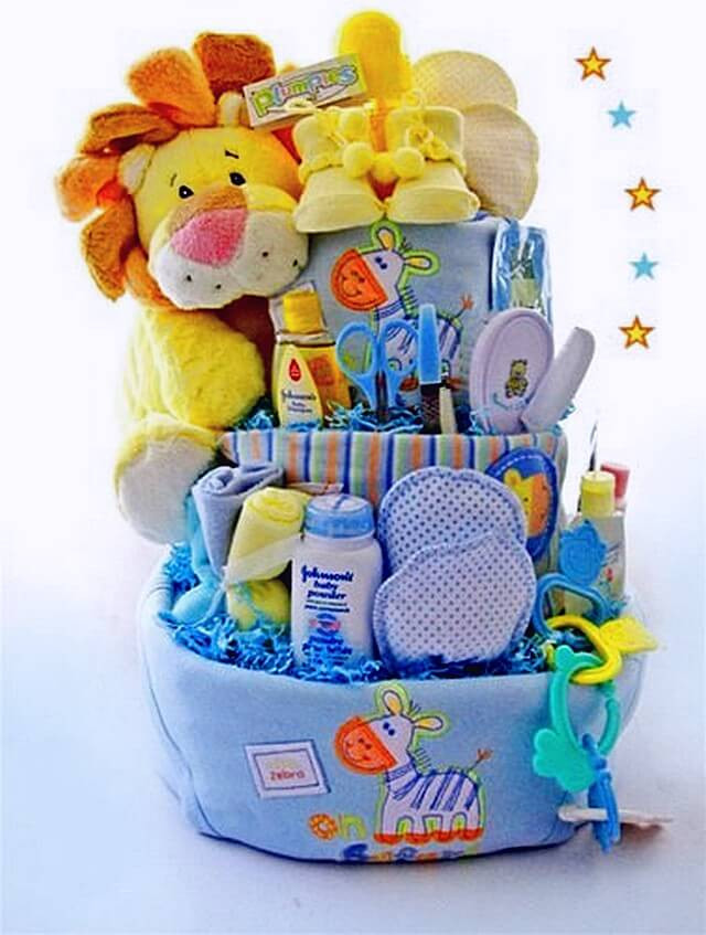 Diy Baby Shower Gift Ideas For Boys  Ideas to Make Baby Shower Gift Basket