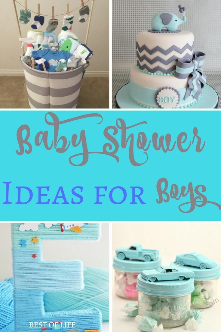Diy Baby Shower Gift Ideas For Boys  Baby Shower Ideas for Boys