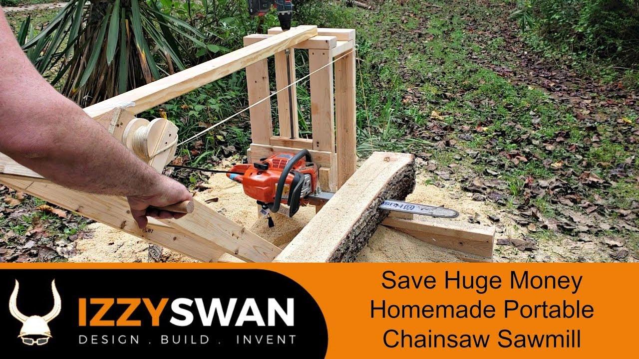 DIY Chainsaw Mill Plans  50 Dollar Portable Sawmill