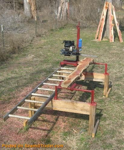 DIY Chainsaw Mill Plans  Homemade Sawmill Plans WoodWorking Projects & Plans