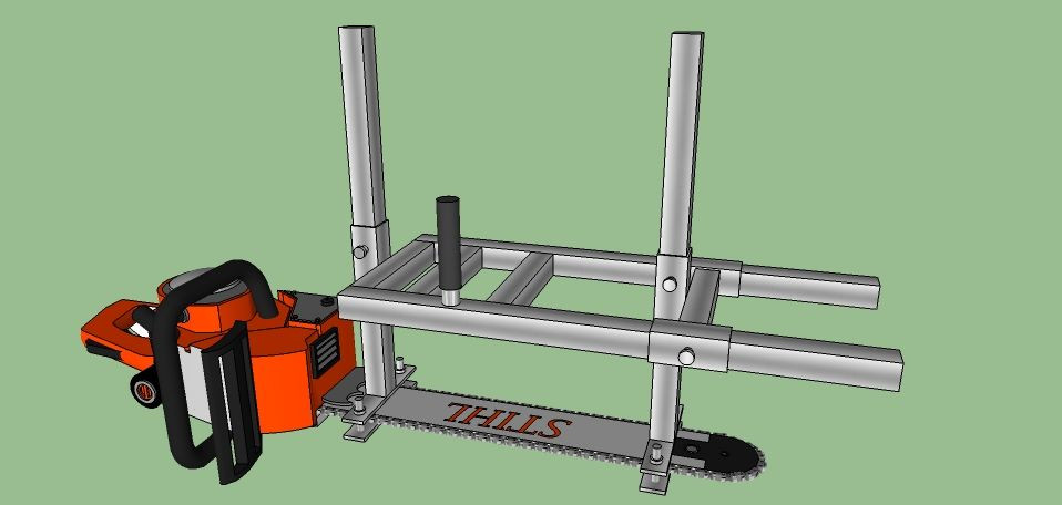 DIY Chainsaw Mill Plans  Posted Image in 2019