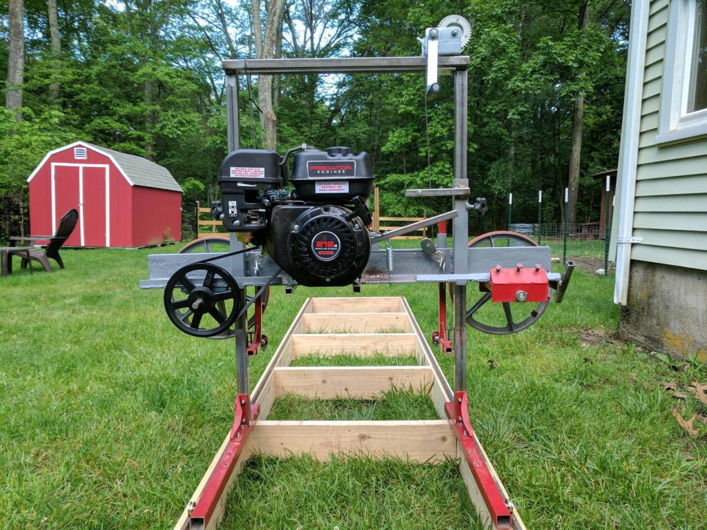 DIY Chainsaw Mill Plans  How I Built a Sawmill in the Backyard