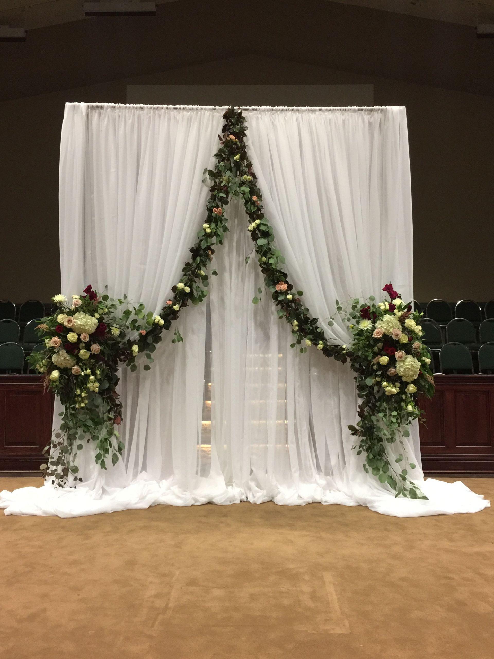 DIY Church Wedding Decorations  Ceremony decor