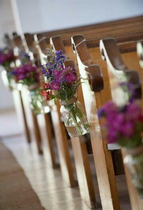 DIY Church Wedding Decorations  Creative Church Wedding Decorations Easyday