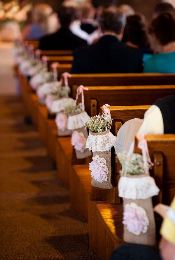 DIY Church Wedding Decorations  DIY Wedding Decoration Ideas Starsricha