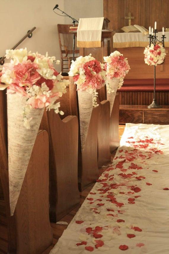 DIY Church Wedding Decorations  Items similar to DIY Wedding Decor E Book Super Sale on Etsy