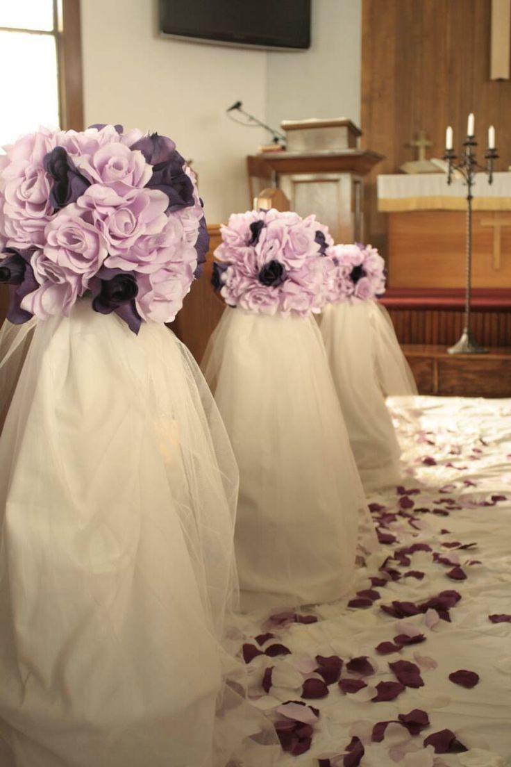 DIY Church Wedding Decorations  17 Best images about Church wedding decorations on
