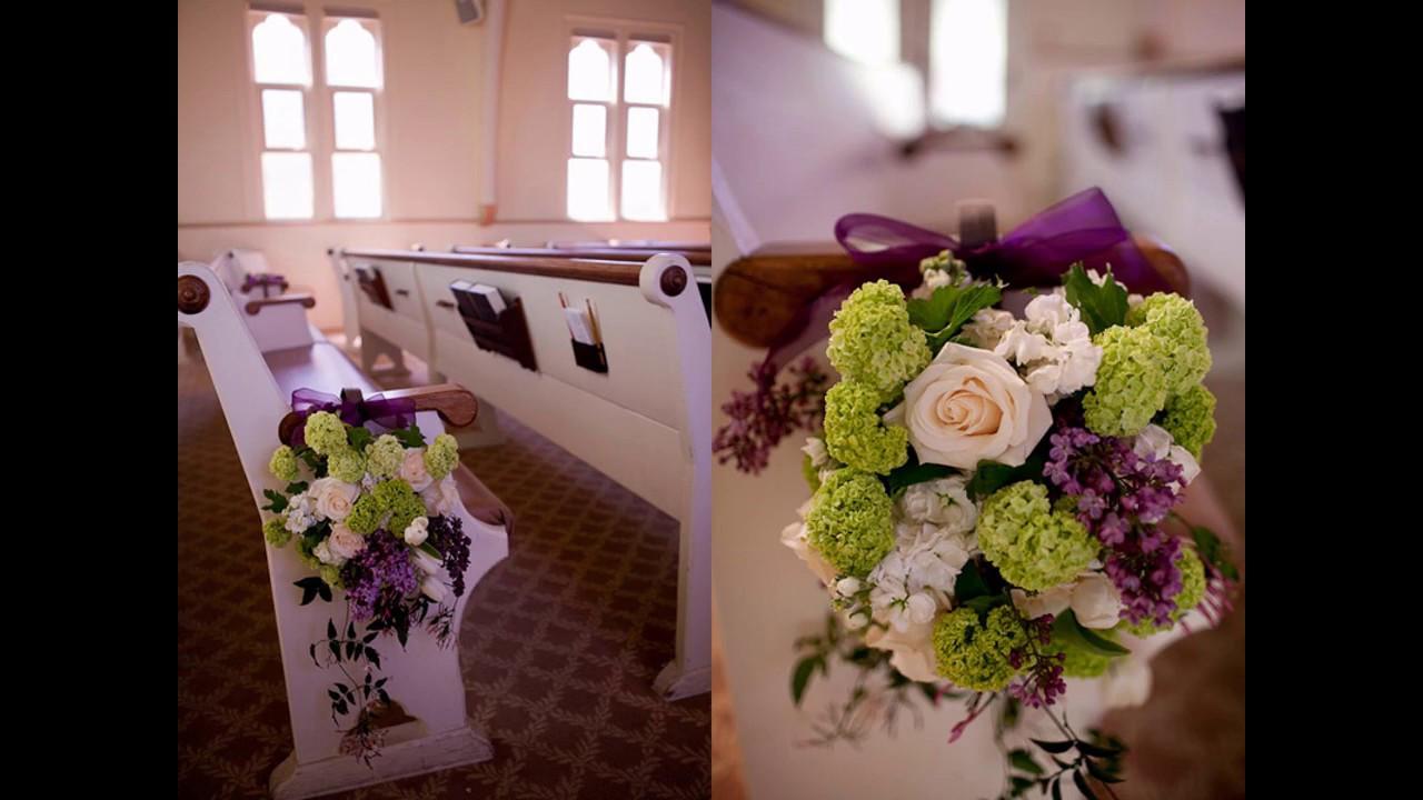 DIY Church Wedding Decorations  Easy Diy ideas for church wedding decorations