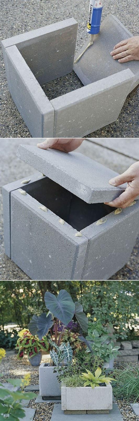 DIY Concrete Planter Box  DIY concrete planter box Dream Garden 101