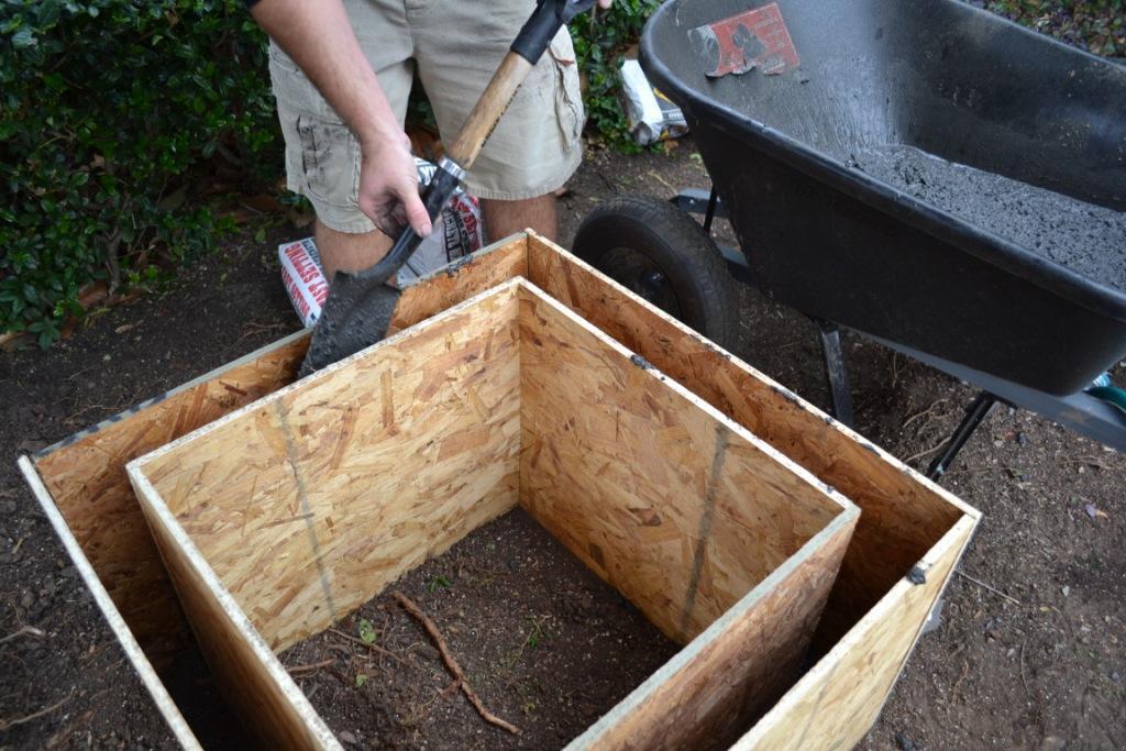 DIY Concrete Planter Box  Modern Maizy The Good The Bad & The Dirty DIY Concrete