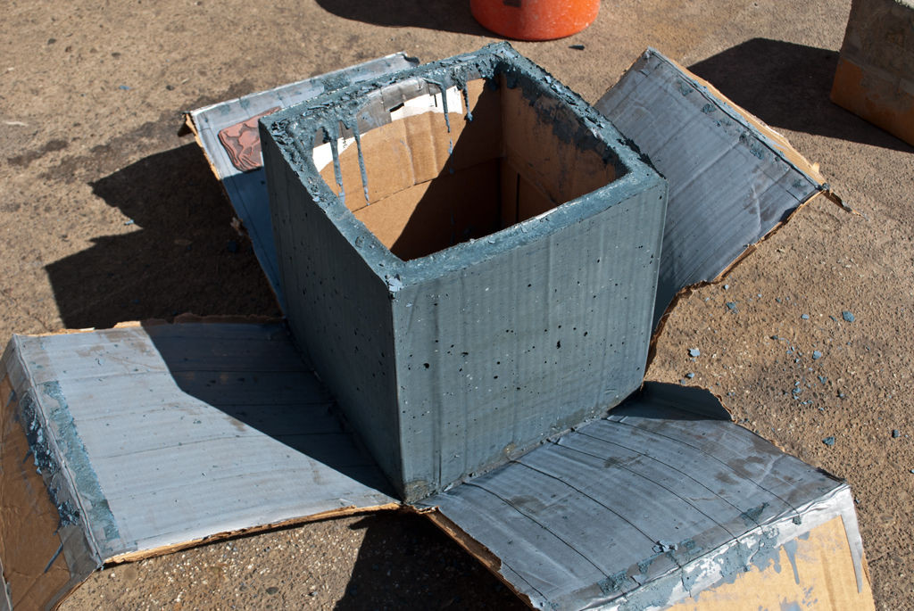 DIY Concrete Planter Box  DIY CONCRETE Planter Box 4 Steps with