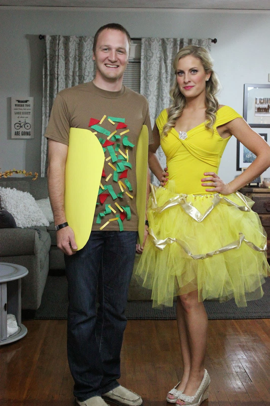 DIY Couple Costumes  15 DIY Couples and Family Halloween Costumes