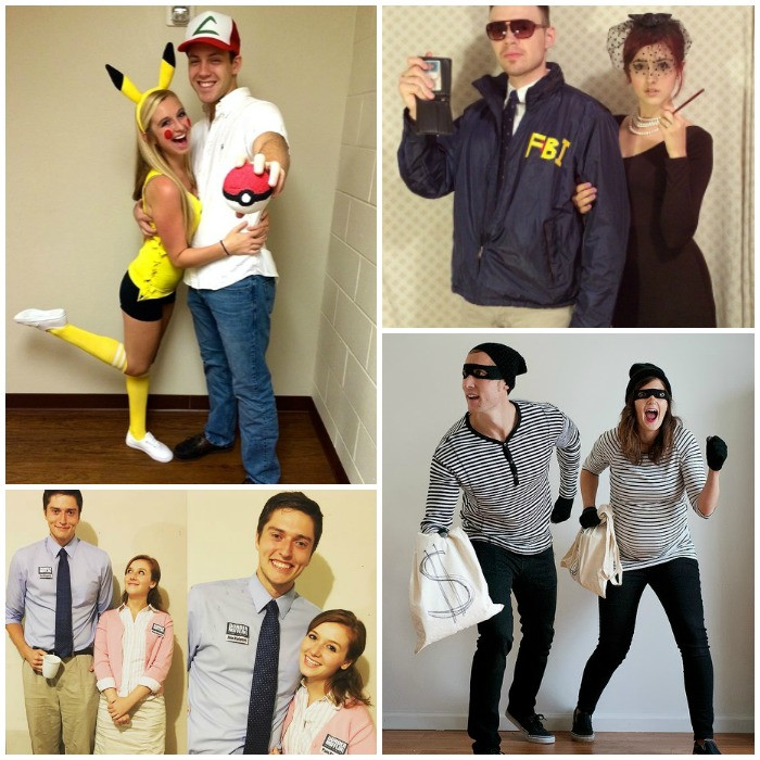 DIY Couple Costumes  17 DIY Couples Costumes That Will WIN Halloween