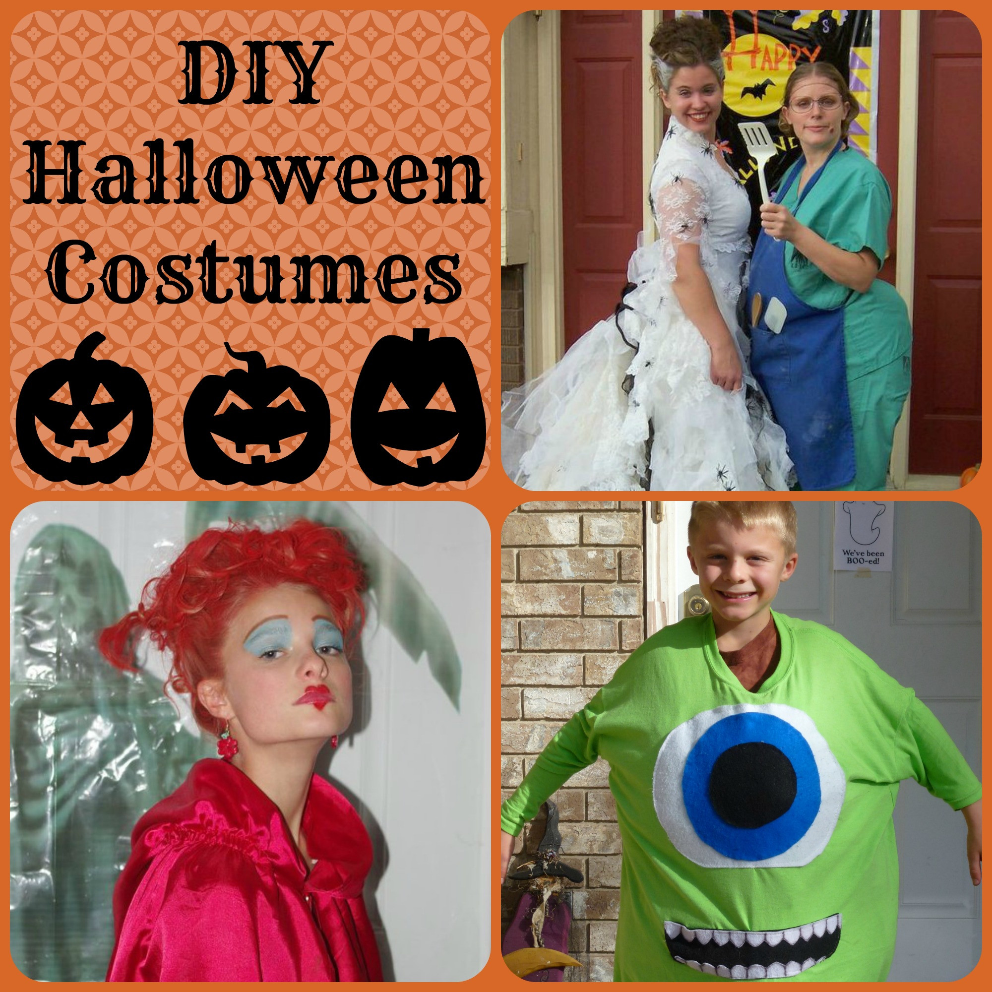 DIY Couple Costumes  Top Posts in 2013 events to CELEBRATE