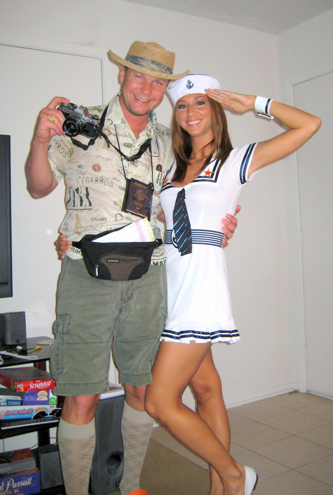 DIY Couple Costumes  39 homemade halloween costumes for adults C R A F T