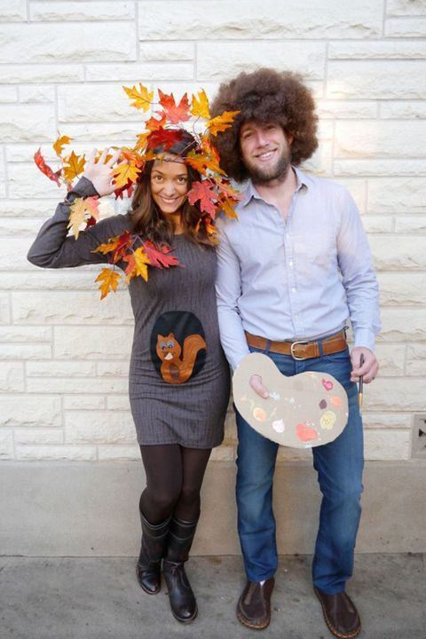 DIY Couple Costumes  45 DIY Couples Halloween Costumes Easy Homemade Couples