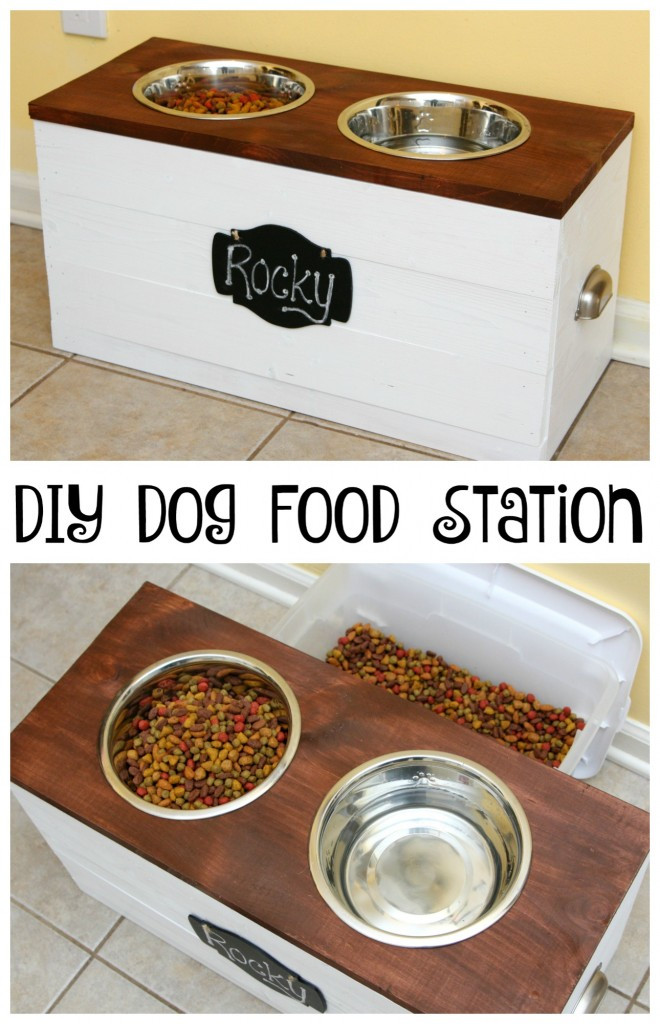 DIY Dog Food Storage  Declutter Your Dog with 9 Inspiring Ideas for Organizing