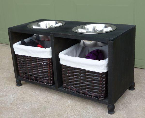DIY Dog Food Storage  10 Creative DIY dog bowl ideas for your pet