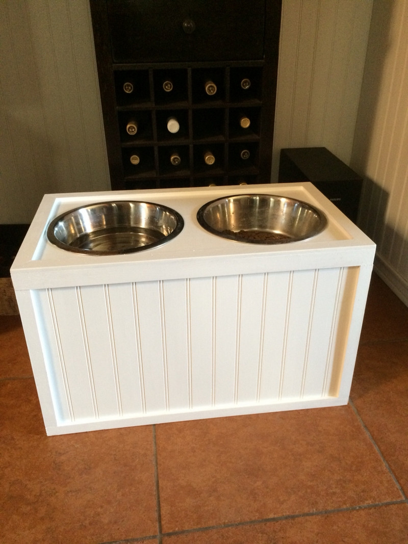 DIY Dog Food Storage  How to Build a Dog Food Station with Storage – Your