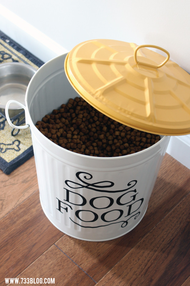 DIY Dog Food Storage  DIY Dog Food Storage Container Inspiration Made Simple