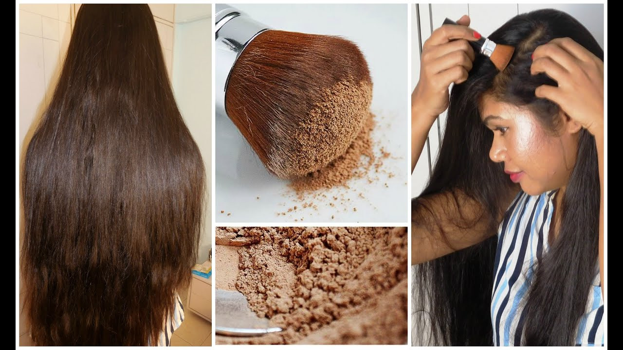 DIY Dry Shampoo For Red Hair  DIY Dry Shampoo For Dark Red Light Hair How To Apply