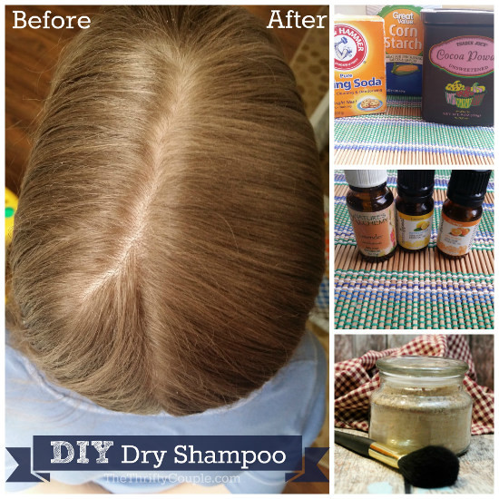 DIY Dry Shampoo For Red Hair  DIY Homemade Dry Shampoo Recipe for Light Medium and Dark