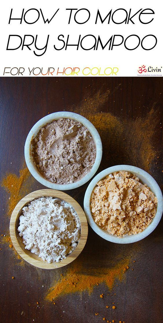 DIY Dry Shampoo For Red Hair  Enjoy this nourishing DIY dry shampoo recipe for blondes