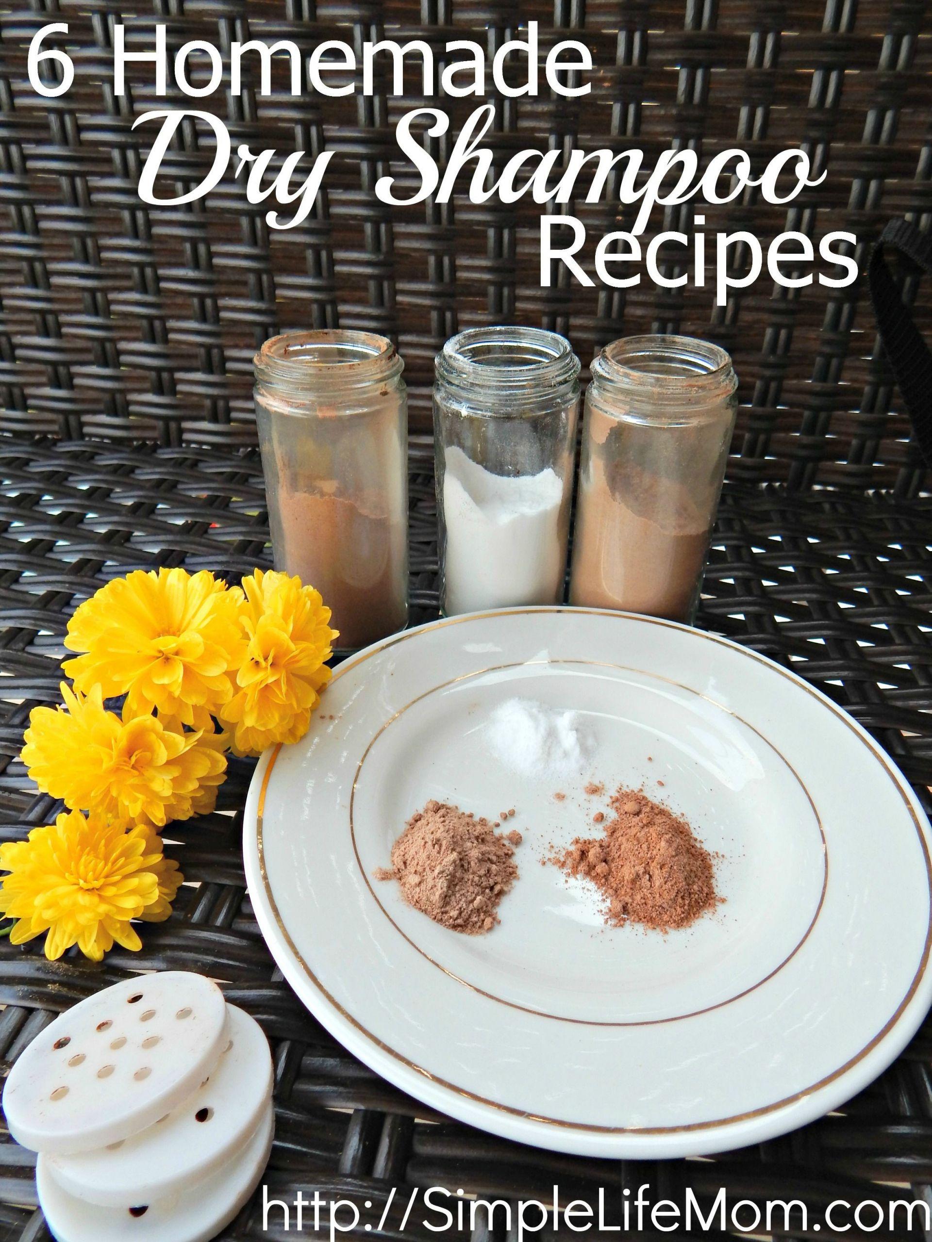 DIY Dry Shampoo For Red Hair  6 Homemade Dry Shampoo Recipes
