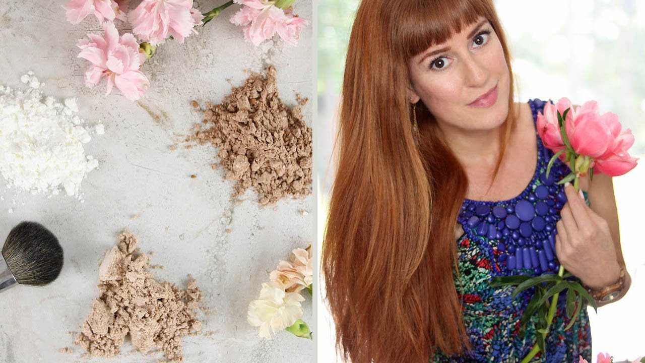 DIY Dry Shampoo For Red Hair  DRY SHAMPOO DIY for light dark and red hair