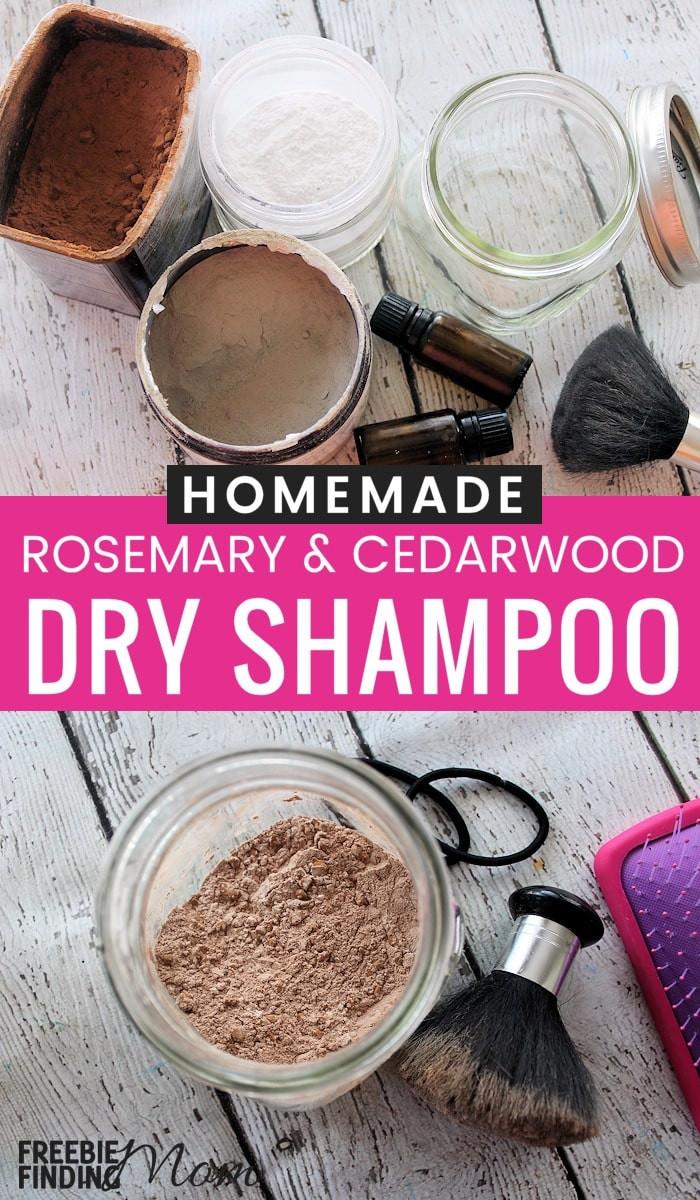 DIY Dry Shampoo For Red Hair  Homemade Dry Shampoo Recipe Rosemary and Cedarwood Dry