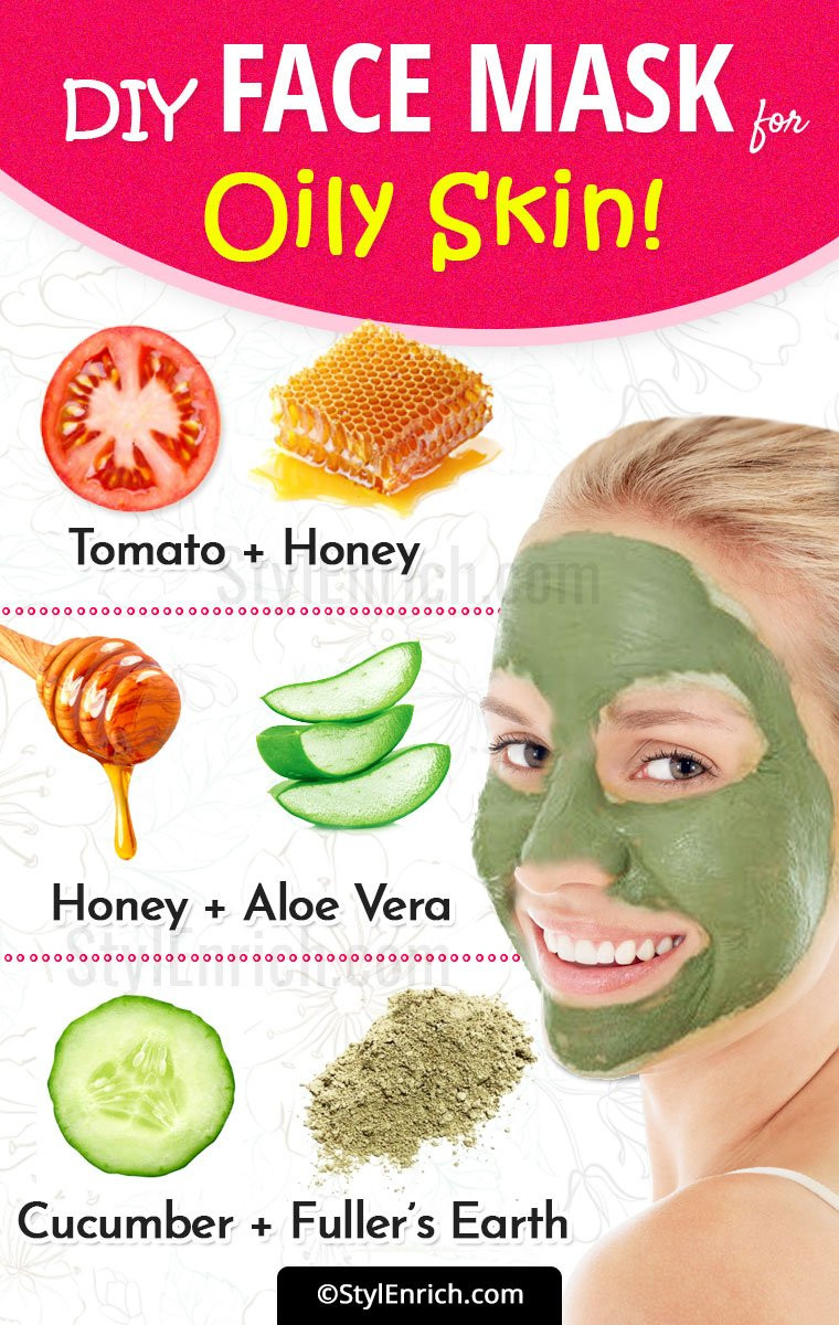 DIY Face Mask For Oily Skin  DIY Face Mask For Oily Skin Try Hands These Effective