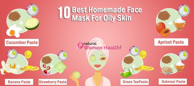 DIY Face Mask For Oily Skin  10 Best DIY Homemade Face Masks for Oily Skin