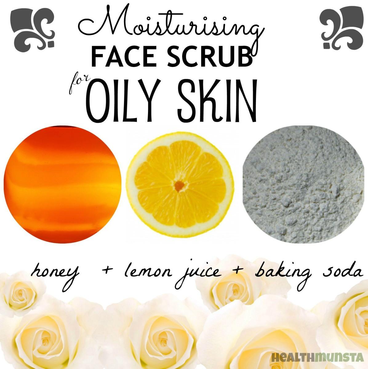 DIY Face Mask For Oily Skin  DIY Homemade Face Scrub Recipes for Oily Skin