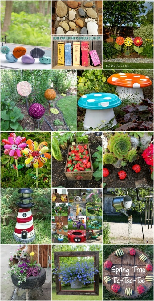 DIY Garden Decoration Ideas  30 Adorable Garden Decorations To Add Whimsical Style To