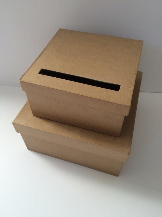 DIY Gift Card Boxes  DIY Wedding Card Box Rustic Wedding Card Holder Gift Card