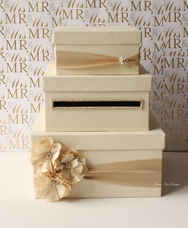 DIY Gift Card Boxes  Wedding Card Box Money Box Gift Card Holder choose your