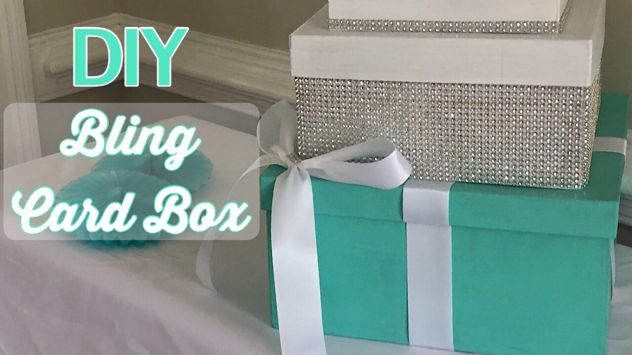 DIY Gift Card Boxes  DIY Bling Card Box