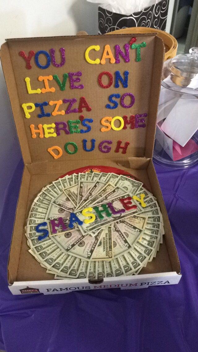 Diy Graduation Gift Ideas For Him  Graduation t diy pizza box and money