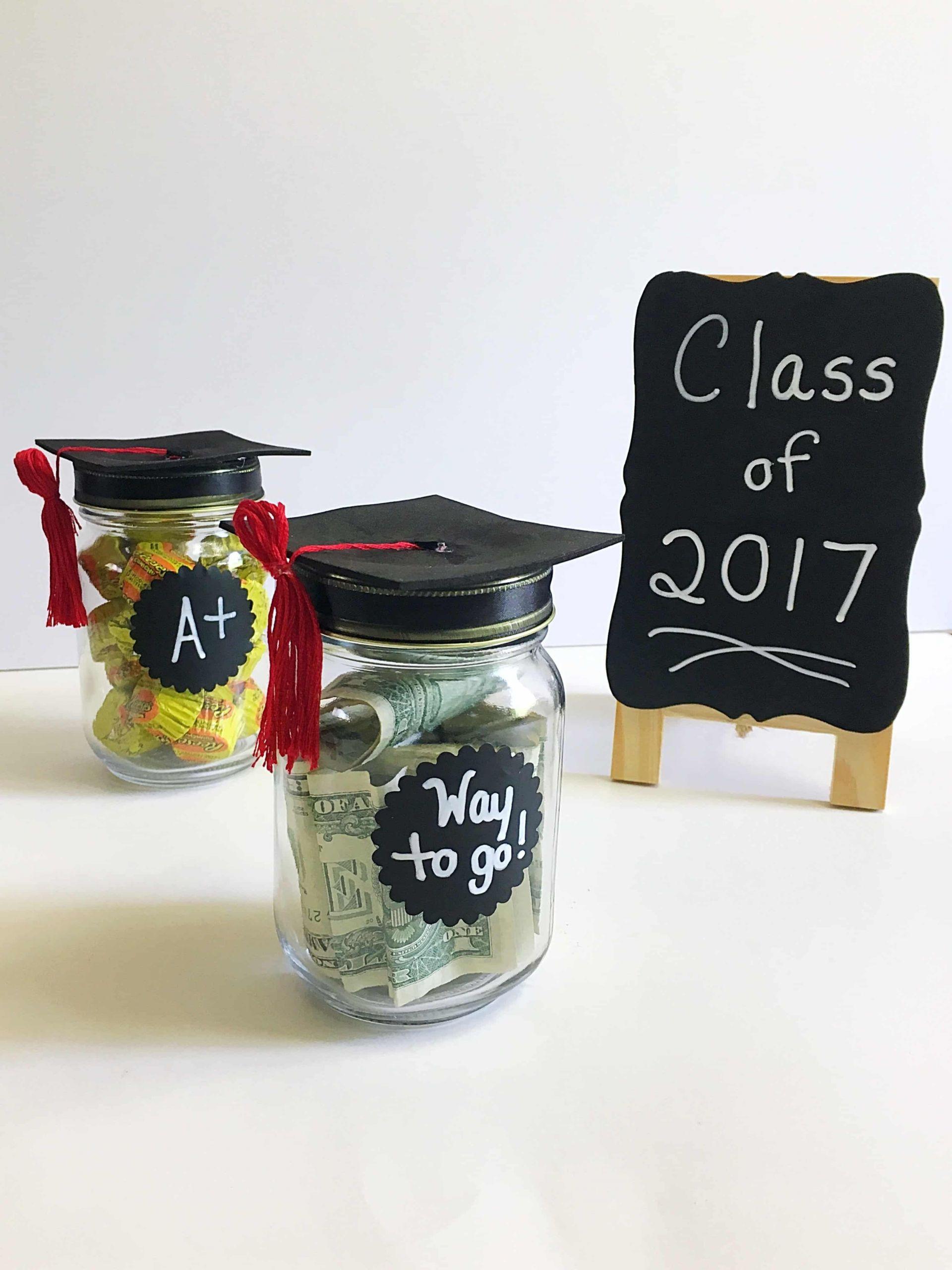 Diy Graduation Gift Ideas For Him  DIY Adorable Graduation Cap Mason Jars Kindly Unspoken