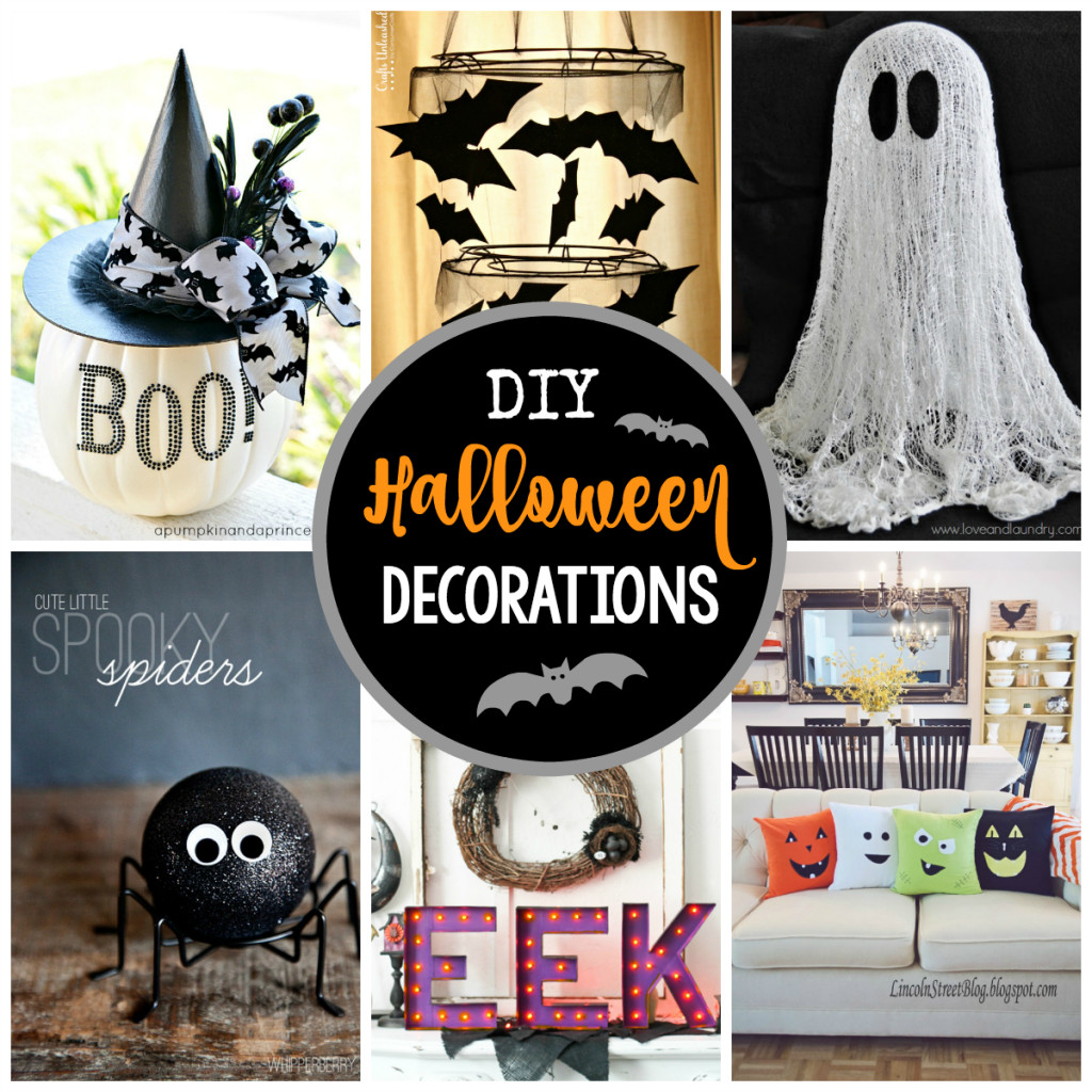 Diy Halloween Party Decoration Ideas  25 DIY Halloween Decorations to Make This Year Crazy