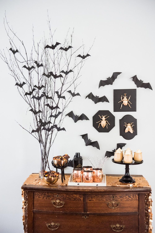 Diy Halloween Party Decoration Ideas  Easy Spooky Halloween Party Decor The Sweetest Occasion