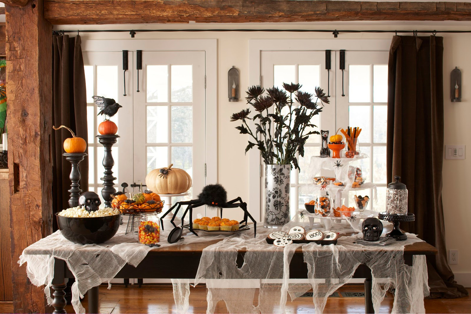 Diy Halloween Party Decoration Ideas  Karin Lidbeck Clever Halloween party ideas Easy last