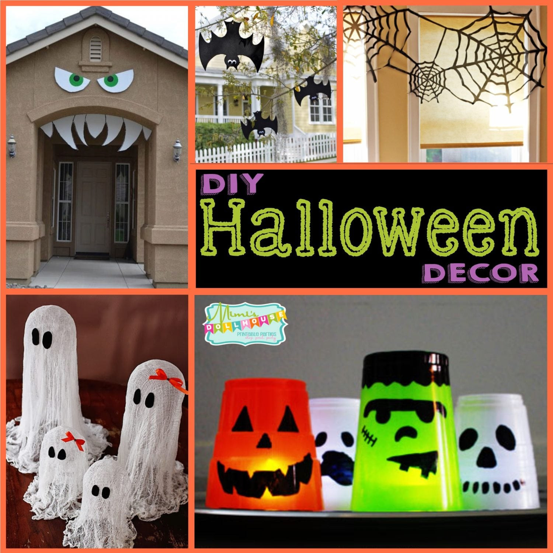 Diy Halloween Party Decoration Ideas  Halloween DIY Halloween Decor