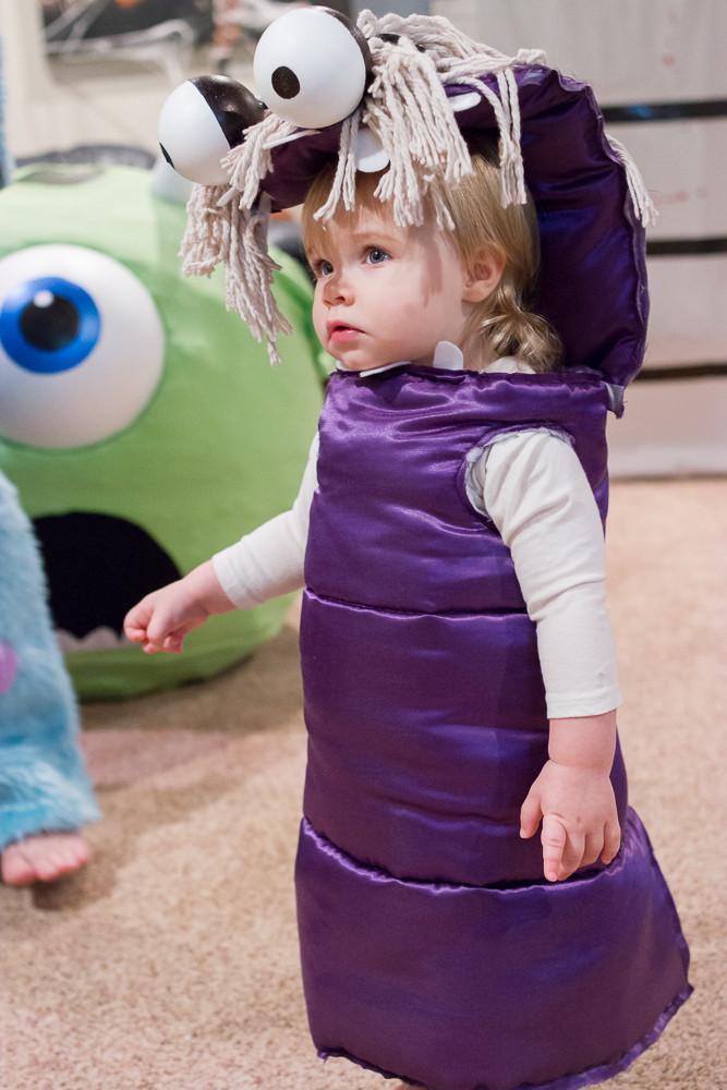 DIY Monsters Inc Costume  45 DIY Disney Themed Halloween Costumes