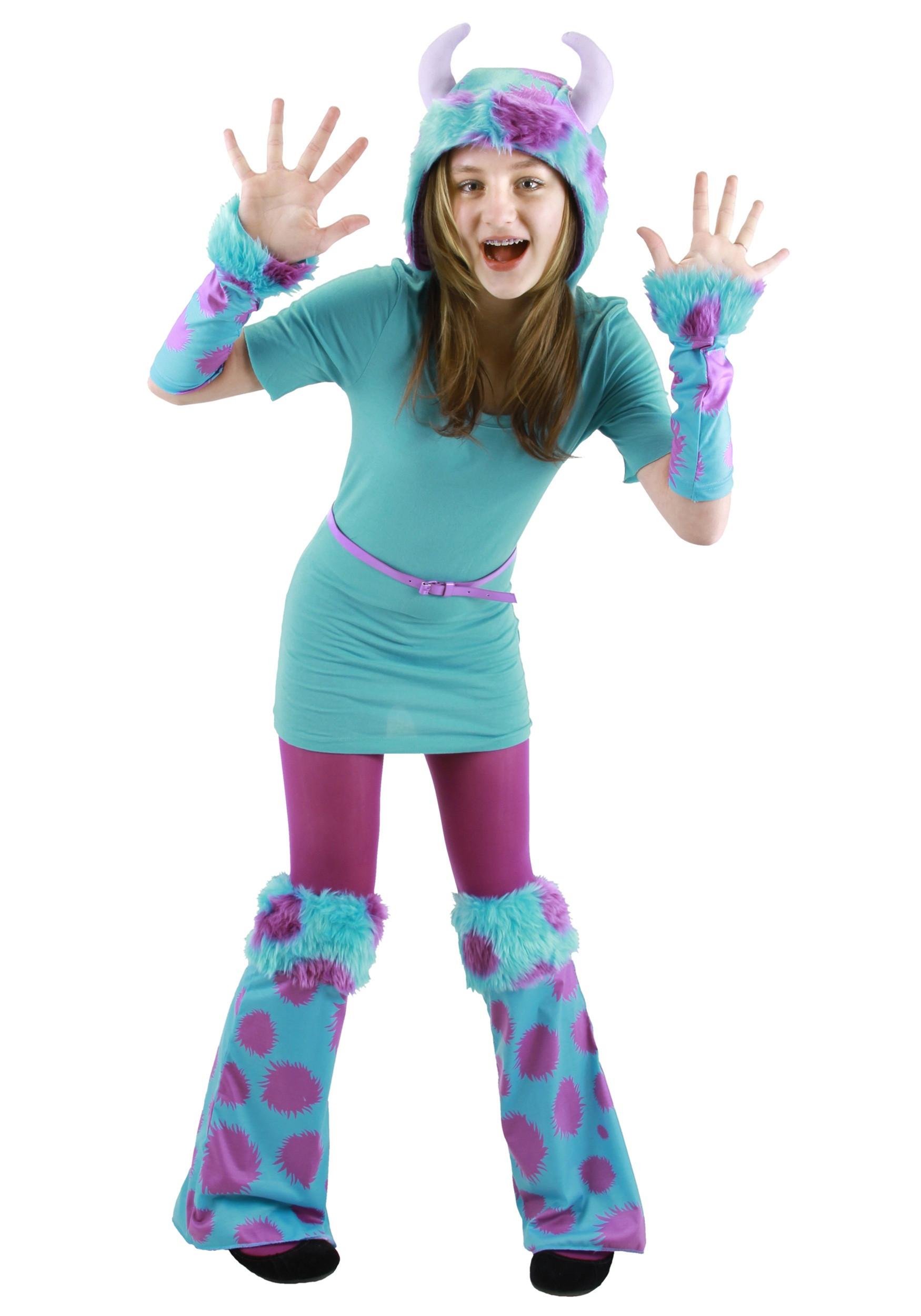 DIY Monsters Inc Costume  Sully Costumes for Men Women Kids