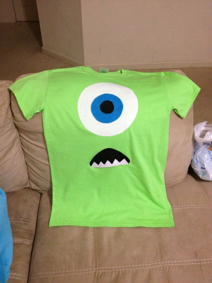DIY Monsters Inc Costume  25 best ideas about Monster inc costumes on Pinterest