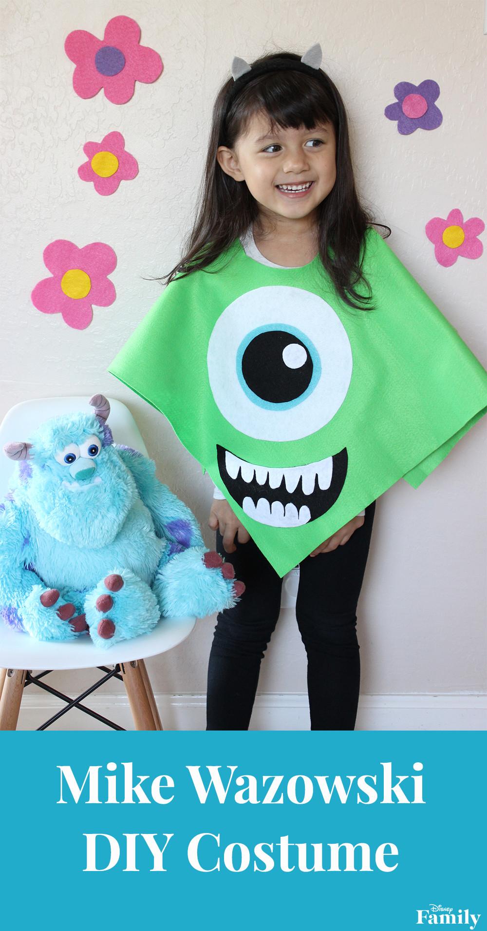 DIY Monsters Inc Costume  DIY Mike Wazowski Costume
