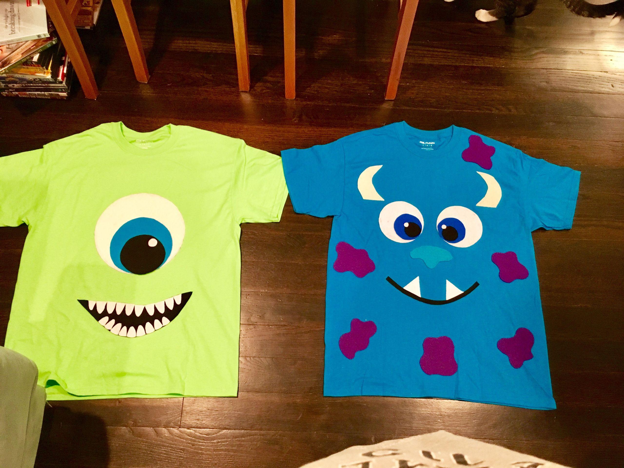 DIY Monsters Inc Costume  DIY Monsters Inc costume